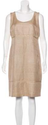 Akris Punto Textured Knee-Length Dress
