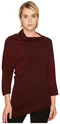 Vivienne Westwood Liberate Drape Neck Long Sleeve Top Women's Clothing