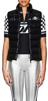 Moncler Women's Ghany Tech-Taffeta Puffer Vest - Black