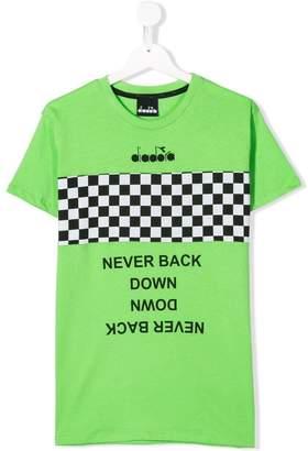 Diadora Junior TEEN racing stripe T-shirt