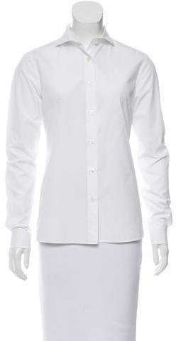Bottega Veneta Bottega Veneta Long Sleeve Button-Up Top