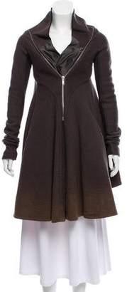 Rick Owens Cashmere Ombré Coat