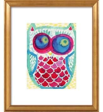 Owl Framed Giclee Print, Artfully Walls