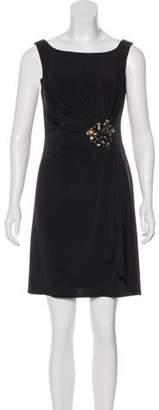 Blugirl Embellished Mini Dress Black Embellished Mini Dress
