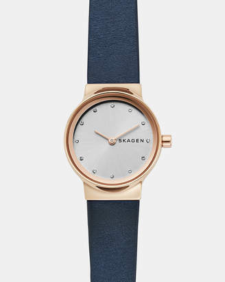Skagen Freja Blue Analogue Watch