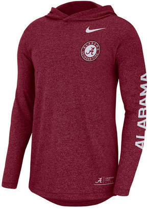 Nike Men's Alabama Crimson Tide Long Sleeve Hooded T-Shirt