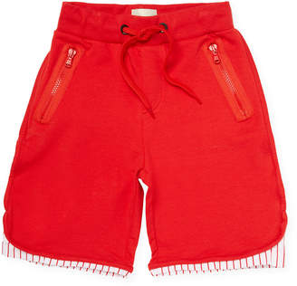 Fendi Self-Tie Knit Short