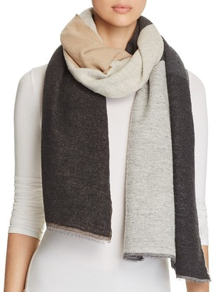 Eileen Fisher Color Block Scarf $98 thestylecure.com