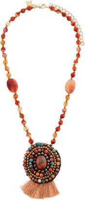 Panacea Multi-Stone Pendant Necklace