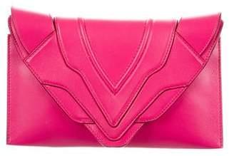 Elena Ghisellini Leather Selina Clutch
