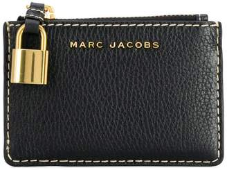 Marc Jacobs The Grind top zip wallet