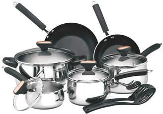 Anolon Paula Deen Signature Stainless Steel 12Pc Cookware Set