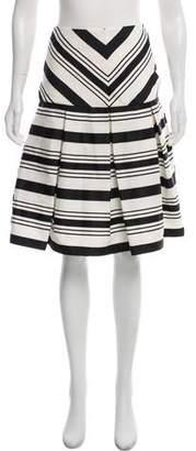 Alexis Pleated Knee-Length Skirt w/ Tags