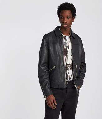 AllSaints Kopen Leather Jacket
