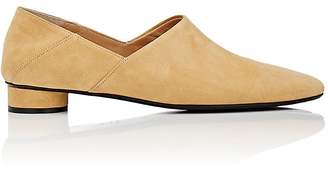 The Row Women's Noelle Suede Loafers $820 thestylecure.com