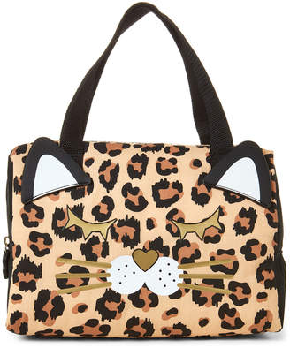 Betsey Johnson Luv Betsey By Leopard Cat Insulated Lunch Tote