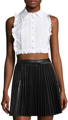 Marissa Webb Women's Marcy Dickie Cropped Top