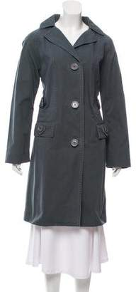 Marc by Marc Jacobs Single-Breasted Knee-Length Coat