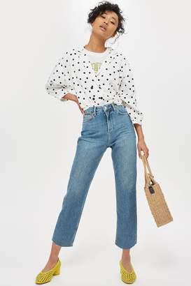 Topshop PETITE Authentic Straight Leg Jeans