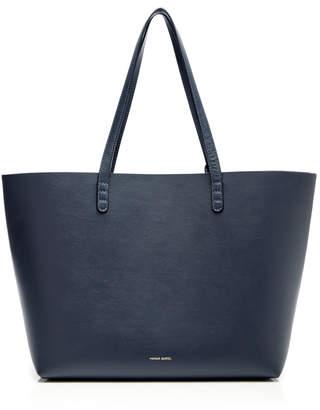 Mansur Gavriel Blu Large Tote Bag $675 thestylecure.com