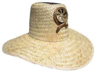 Kool Breeze Solar Hats Kool Breeze Solar Cooling Straw Hat - Plain Gardener (M/L)