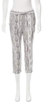 Ella Moss Mid-Rise Printed Pant