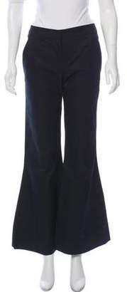 Chloé Cutout Wide-Leg Pants Black Chloé Cutout Wide-Leg Pants
