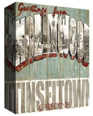 Tinseltown CA Decorative Canvas Wall Art 11