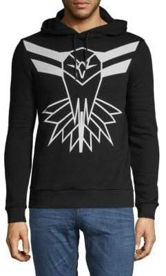 Roberto Cavalli Graphic Cotton Sweatshirt