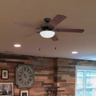 "Charlton Home 52"" Crownover 5 Blade LED Ceiling Fan Charlton Home"