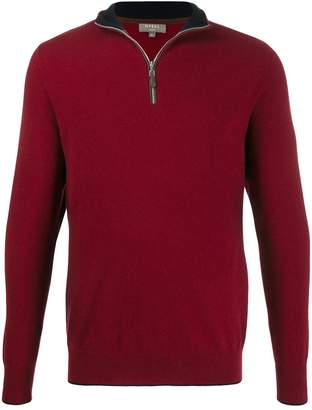 The Carnaby Half Zip Cashmere Sweater