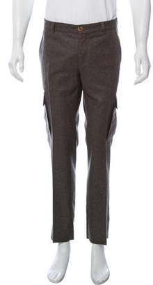 Brunello Cucinelli Wool Cargo Pants