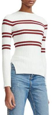 Maje Manuel Striped Sweater