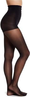 DKNY Signature Sheer Satin Control Top Pantyhose