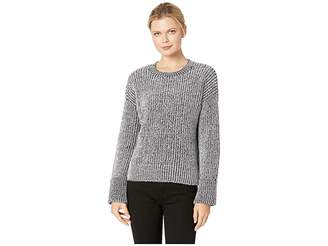 Kenneth Cole New York Plaited Crew Pullover