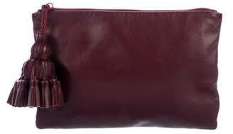Anya Hindmarch Grained Leather Zip Pouch