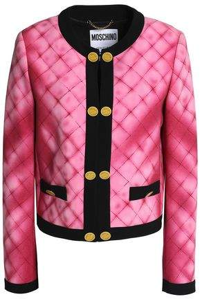 Printed Crepe Jacket