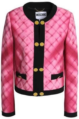 Moschino Printed Crepe Jacket
