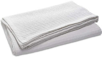 Lucky Brand Closeout! Ribbed Matelasse Twin Coverlet, Created for Macy's Bedding