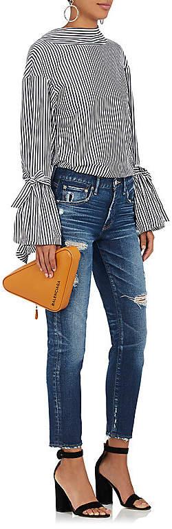 Moussy Women's Isko Acy Distressed Skinny Jeans