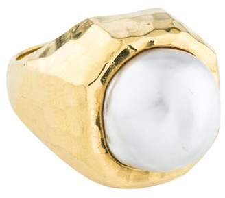 Henry Dunay 18K Pearl Cocktail Ring