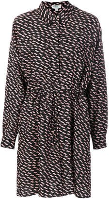 Kenzo patterned shirt dress