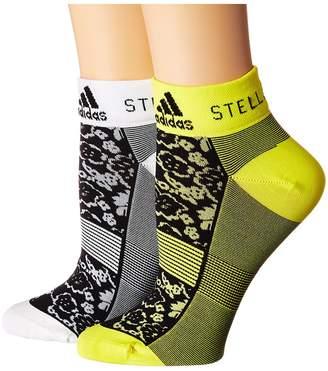 adidas by Stella McCartney Low Socks Women's Crew Cut Socks Shoes