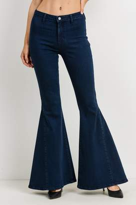 Just Black Denim High Rise Bell Bottom