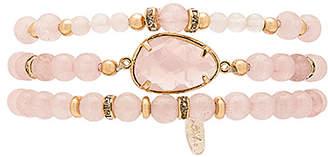Ettika Beaded Bracelet Set in Pink. $61 thestylecure.com