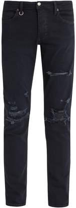 Neuw Iggy ripped-knee slim-leg denim jeans