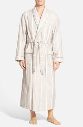 Majestic International 'Breakers' Herringbone Cotton Robe