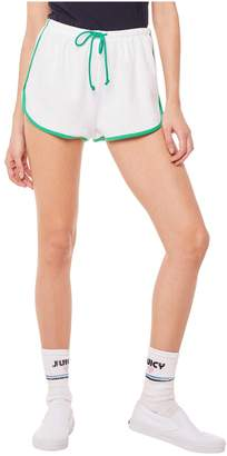 Juicy Couture Microterry Short With Piping