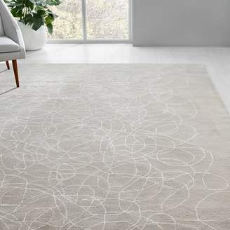 west elm Lori Weitzner Walkabout Rug - White/Taupe