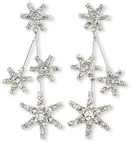 Jennifer Behr Saros Crystal Starburst Earrings